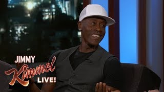 Don Cheadle on Playing Donald Duck
