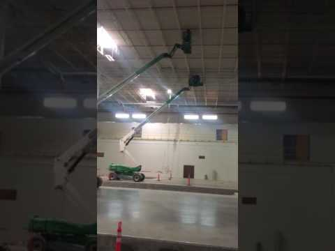 Industrial Cleaning Ceiling Components