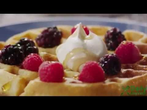 How to Make Belgian Waffles - Brunch Recipes