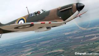 Flying with a Spitfire
