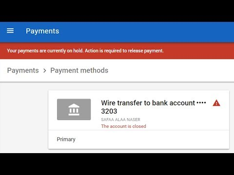 How to Fix Google Adsense Payment Issue