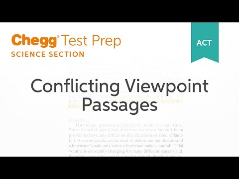ACT Science: Conflicting Viewpoints Passages - Chegg Test Prep