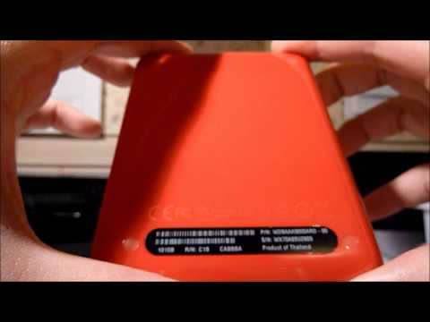 Unboxing of WD My Passport Essentials Ultra Portable 500gb Red External Hard Drive