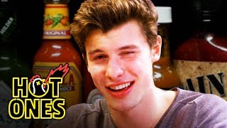 Download Shawn Mendes Reveals a New Side of Himself While Eating Spicy Wings | Hot Ones Video