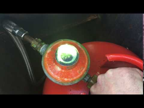 Total regulator failure - LPG system on a narrowboat