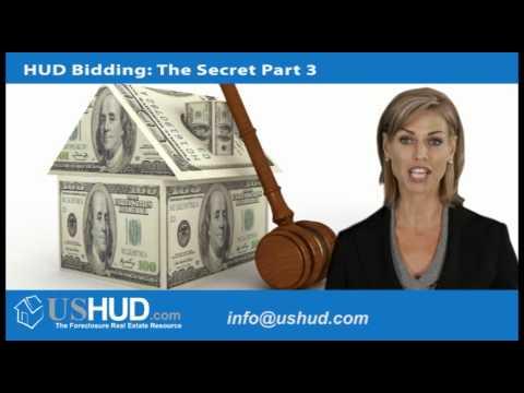 HUD Foreclosure   Bidding on a HUD Home - Part III of III
