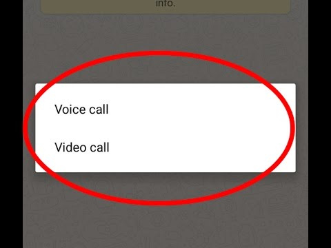 How to get whatsapp video calling feature in android