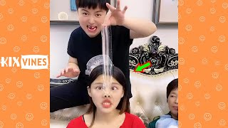 Funny videos 2021 ✦ Funny pranks try not to laugh challenge P182