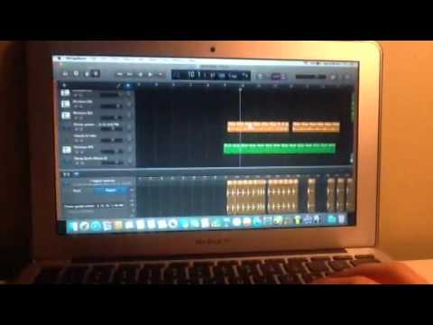How to make a hard trap beat in garageband
