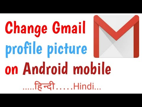 How to Change the Gmail picture || upload photo in gmail account in Android mobile-[Hindi]