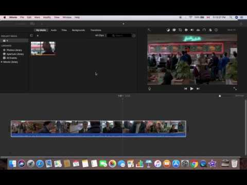 iMovie Basics: How to mute a clip in iMovie