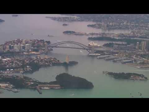 VAustralia flight from Sydney to LAX then onto Orlando