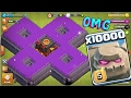 Download  10000 Golem Attack In Clash Of Clans Omg Heaviest Attack Ever In Coc History  MP3,3GP,MP4