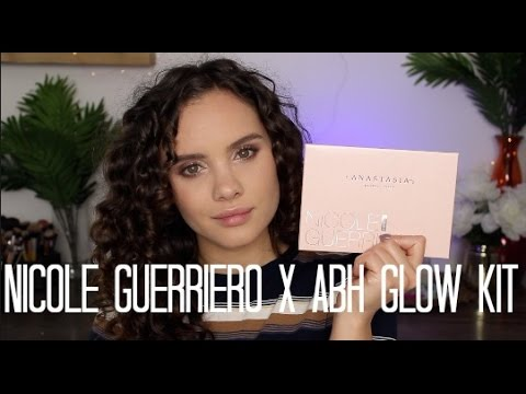 Nicole Guerriero Glow Kit | Dupes, Swatches, & Review