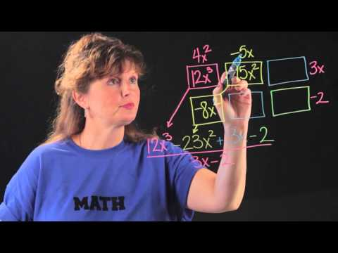 How to Divide Polynomials Using the Box Method