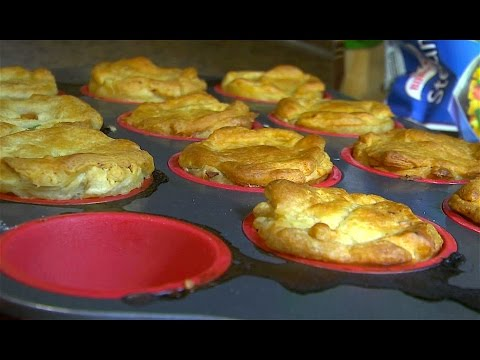 'Mini' Chicken Pot Pies (Delicious Recipes)