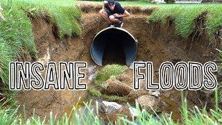 INSANE FLOODS DEVESTATE OHIO