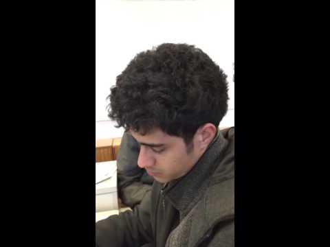 Falling asleep in class at uni
