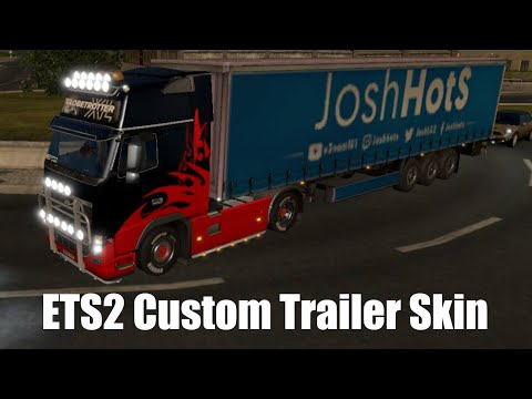 Euro Truck Simulator 2 - Custom Skin Tutorial