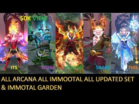 TIM : DOta 2 How to Get Free ARcana Or Immortal & set (skin) Immortal Map  mythical Sound Pack :)