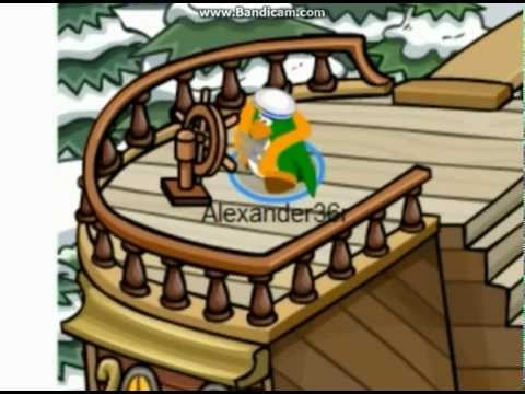 Club Penguin Stranded at the Forbidden Island - Part 1