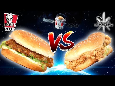 KFC ZINGER CHICKEN vs HOMEMADE - World famous ZINGER FAIL!