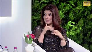 Watch: Twinkle Khanna bats for 'brave Tanushree Dutta' at HTLS 2018