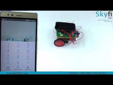 Learn to Build a Robotics Project on DTMF Technology from home - Skyfi Labs