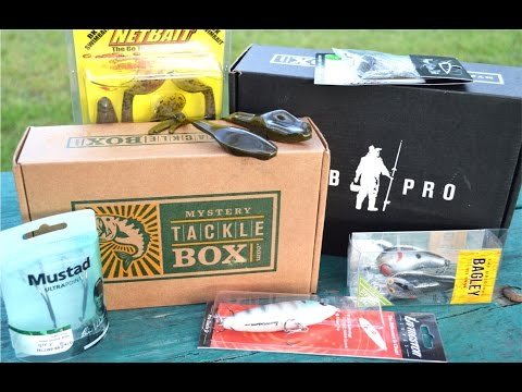Mystery Tackle Box PRO - April Unboxing