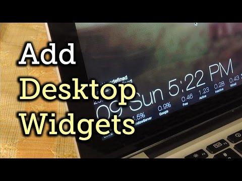 Add HTML5 Widgets to Your Mac's Desktop with Ubersicht [How-To]