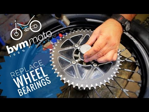 How To - Replace Trials Wheel Bearings