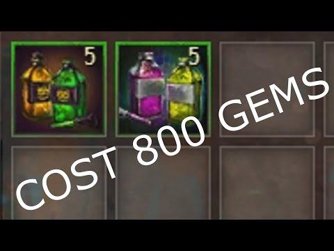 Gambling 5 Mad King Dyes & 5 Vibrant Dyes (800 GEMS)  |  Guild Wars 2