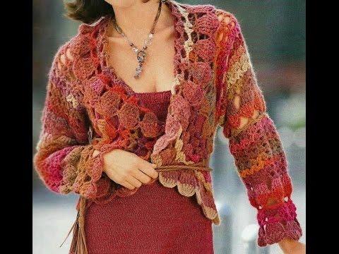 CROCHET PATTERNS| for free |crochet shrug|, |crochet cardigan| 7