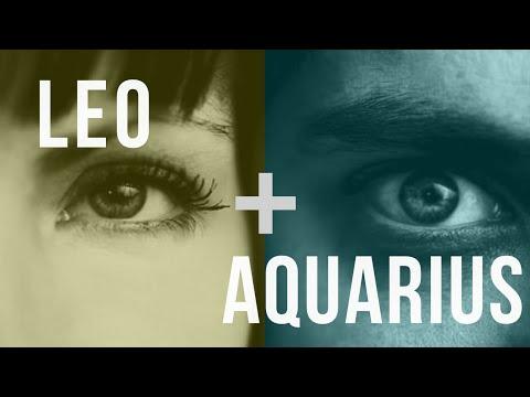 Leo & Aquarius: Love Compatibility