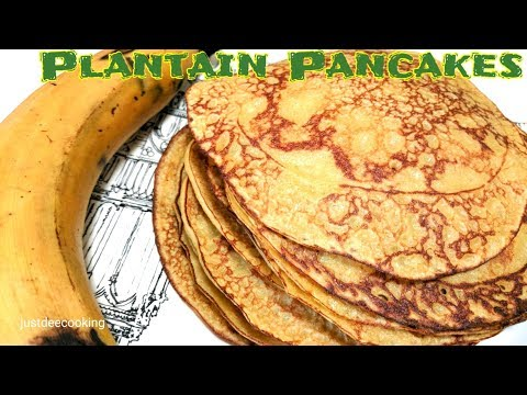 How to Make Plantain Pancakes (Breakfast Recipe)