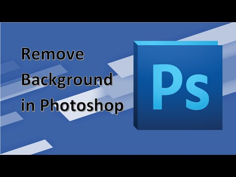 How to remove the background from images in Photoshop [4K]