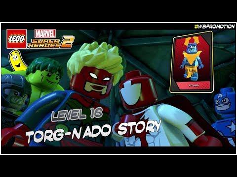 Lego Marvel Superheroes 2: Level 16 / Torg-Nado STORY - HTG