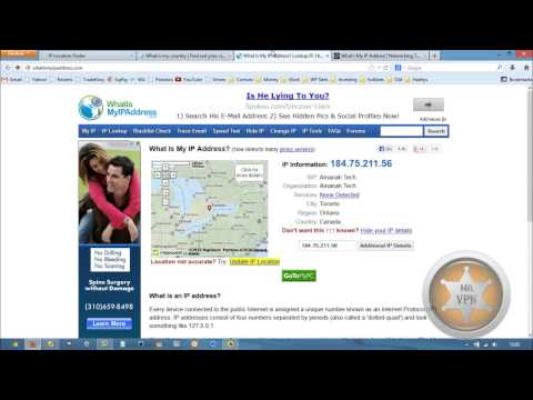 Get a Canadian IP Address - How To