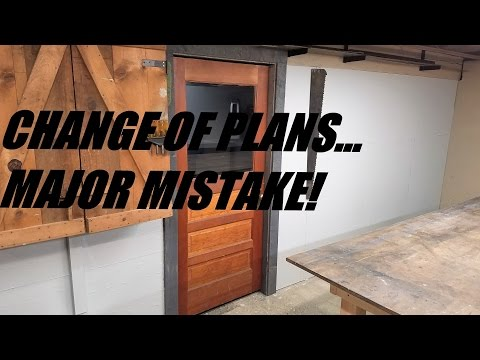 Cutting a Solid Wood Door to size and a MAJOR mistake!