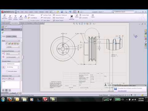 Solidworks drawing2
