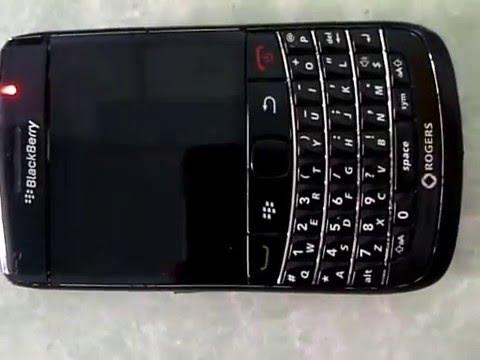 Lỗi pin của blackberry 9780