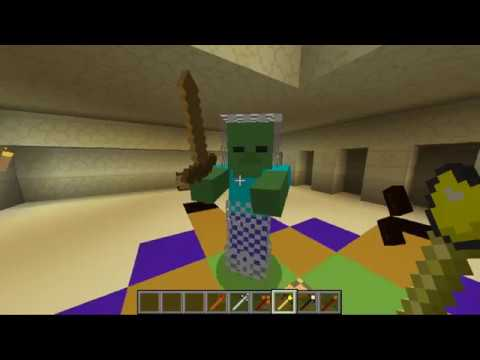 Make Mobs Fight Other Mobs!! (Mob Battle Mod Review)