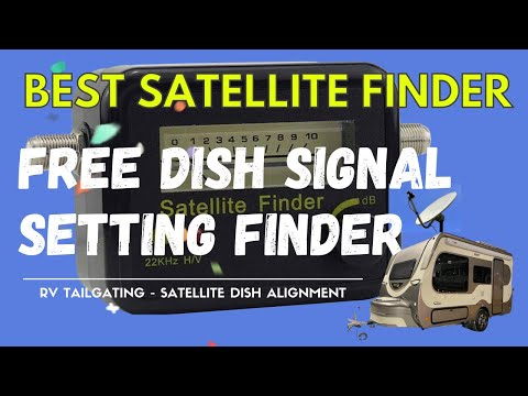 SF95L Signal finder for aligning your DirecTV Satellite Dish.  RV Tailgating