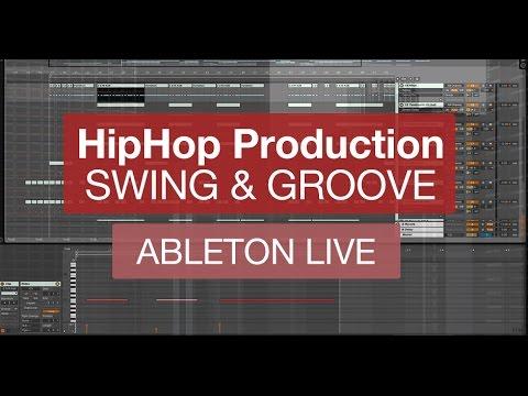 Hip Hop Rhythm with Ableton Live - Drum Rhythm, Swing, Velocity