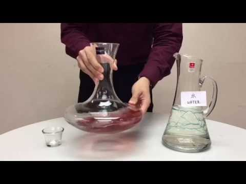 Simple Ways to Clean a Decanter 如何簡單地清洗醒酒器?