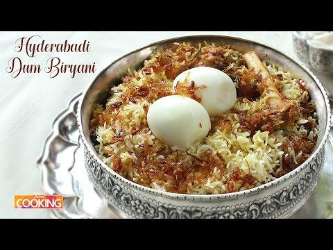 Hyderabadi Mutton Dum Biryani l How To Make Mutton Dum Biryani At Home