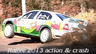 Best of Rallye 2013 action & crash