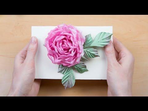 How to make fabric flowers like real (HD)