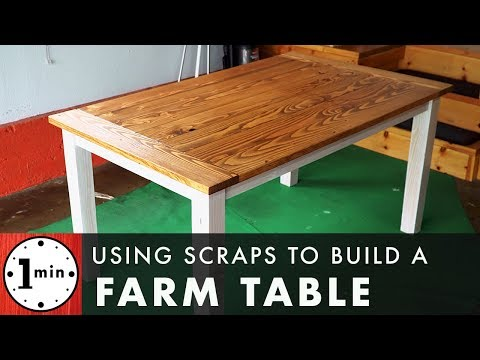 Farm Table DIY, Full Build!