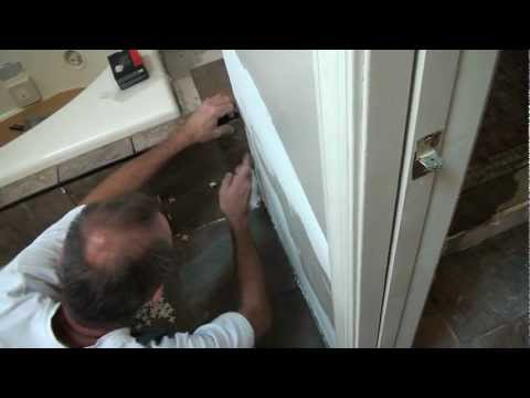 How to Install Tile around a jet tub. (bathroom tile projects)